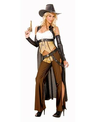 Wanted Cowgirl Adult Womens Costume 6791062 Western Cowboy