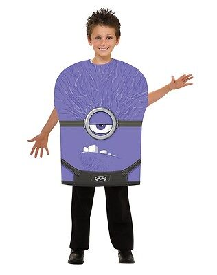 Despicable Me Evil Minion Child Costume - Despicable Me Minion Costume Kids