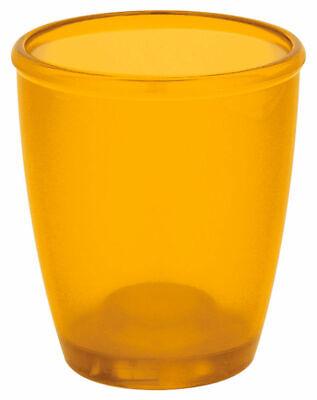Orange Zahnbürstenhalter (Spirella Toronto Orange Zahnbecher Becher Zahnbürstenhalter Markenprodukt )