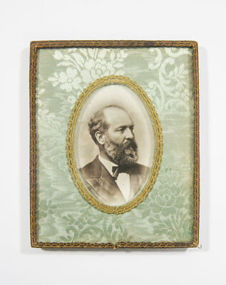 Framed Photograph of President James A. Garfield - From Blue Room of White House