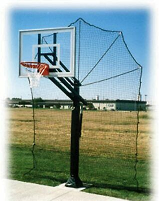 Basketball Return Net Guard Backstop Hoop Rebound Back Netting Attachment Yard