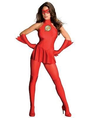The Flash Adult Womens Costume - Women Flash Costume