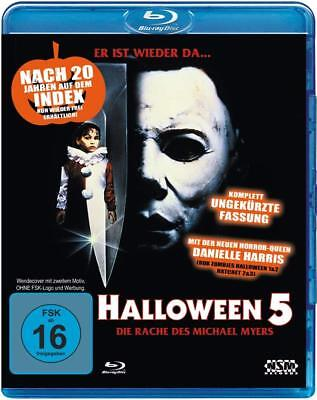 Donald Pleasence Halloween 5 (Halloween 5 - Michael Myers - Donald Pleasence NEW SEALED Blu-Ray Region B Uncut)