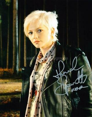 HANNAH SPEARRITT as Abby Maitland - Primeval GENUINE AUTOGRAPH