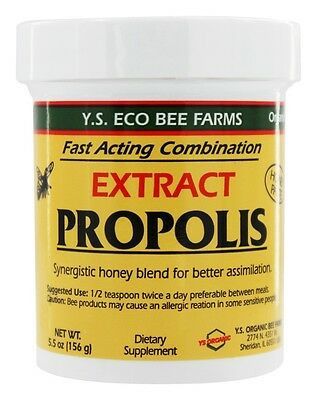 YS Organic Bee Farms Propolis Extract In Honey 55000 mg 5.5 oz