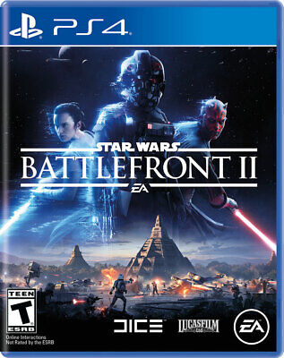 Star Wars: Battlefront II 2 (Sony PlayStation 4 PS4, 2017) - NEW