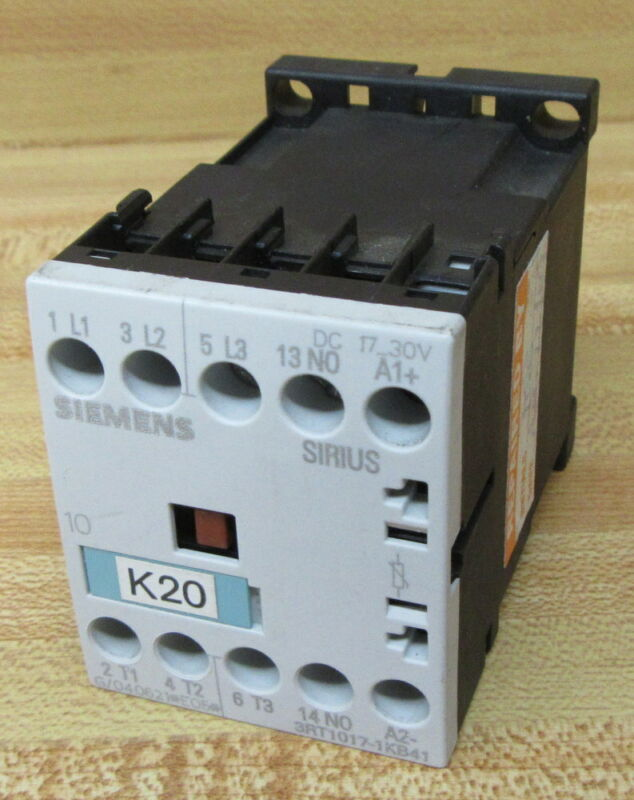 Siemens 3RT1017-1KB41 Contactor 3RT10171KB41 (Pack of 10)