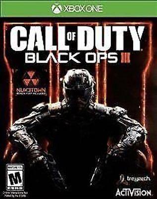 Call Of Duty  Black Ops Iii Used Sealed Cod Boiii Bo3 3 Microsoft Xbox One  2015