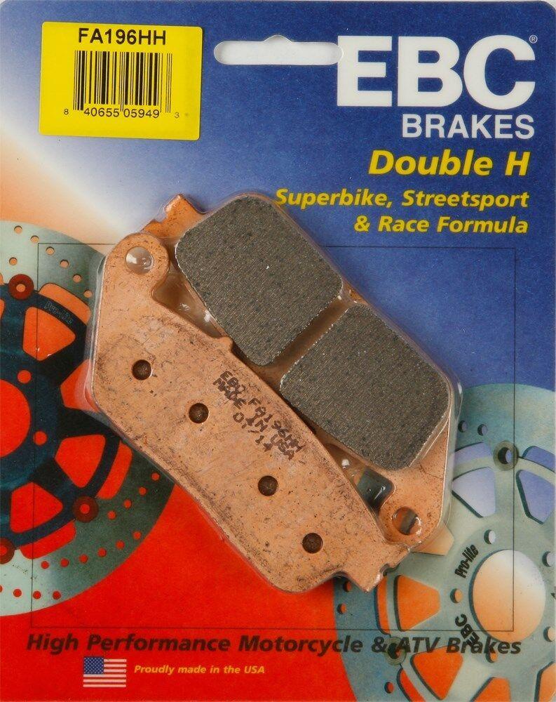 1 Set Triumph Bonneville EBC Sintered FRONT Brake Pads 2001 to 2015 FA196HH