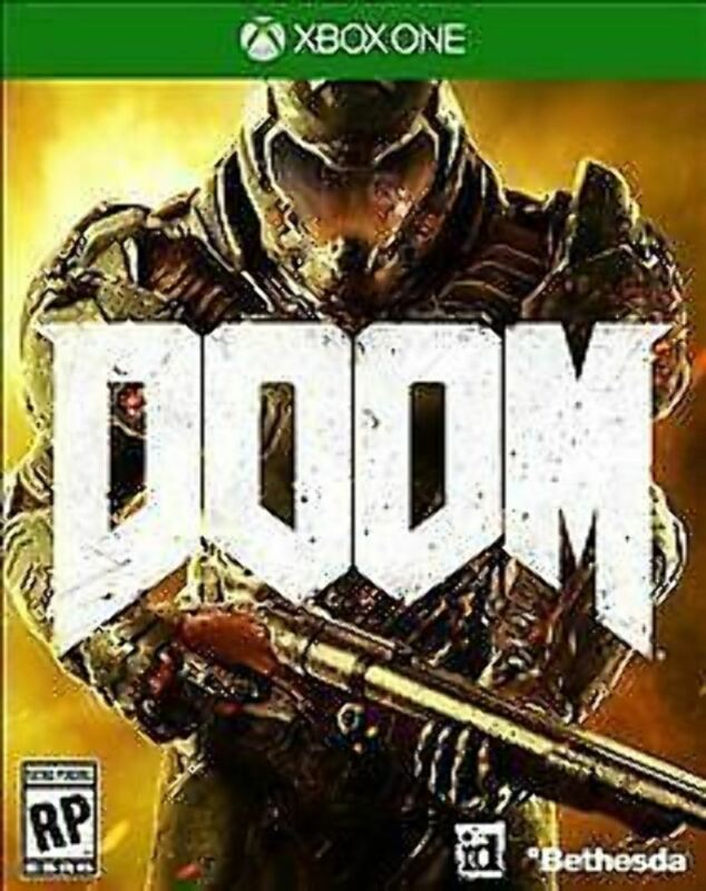 Doom USED SEALED (Microsoft Xbox One, 2016)