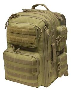 NEW - HIGH CAPACITY OVERLOAD TACTICAL BACKPACKS WITH M.O.L.L.E. WEBBING FOR ALL YOUR GEAR!