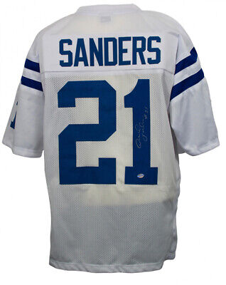 Bob Sanders Signed Indianapolis Colts Jersey (SI COA) 2×Pro Bowl Strong Safety ()