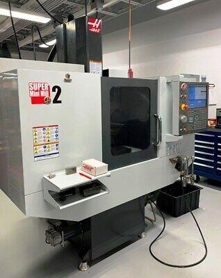 Haas Super Minimill 2 Vertical Machining Center - Lmc 50332