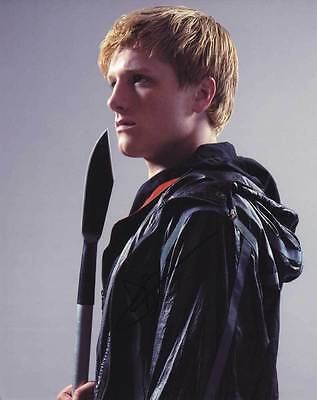 Josh Hutcherson In Person Authentic Autographed Photo Coa Sha  41402