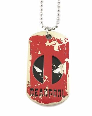 DEADPOOL Logo Pendant Necklace Dog Tag