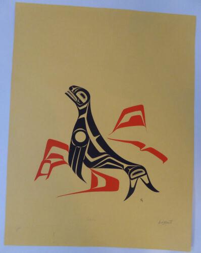 Northwest Coast Native Ken Mowatt Limited Edition Print Native Wall Art