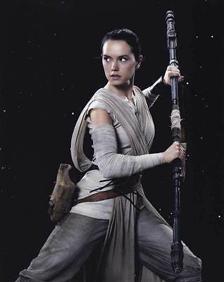 Daisy Ridley In Person Authentic Autographed Photo Coa Star Wars Sha  92915