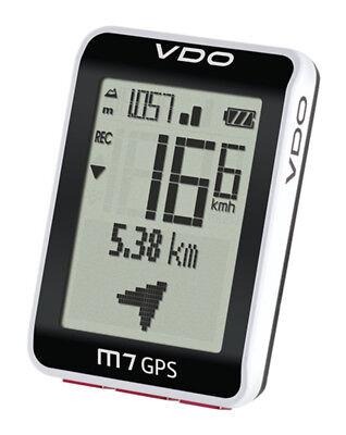 VDO M7 GPS CP 3047 FAHRRADCOMPUTER HÖHENMESSER RADTACHOS GPS-ÜBERTRAGUNG PC BIKE