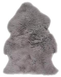 Grey Sheepskin Rugs