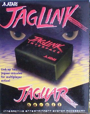 JagLink(Jag Link) Cable & 2 Interfaces. New Atari Jaguar