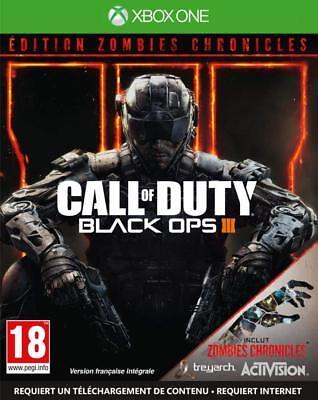 Call of Duty Black Ops III Zombies Chronicles JEU XBOX ONE NEUF...