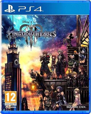 Kingdom Hearts 3 III PS4 Spiel NEU OVP Playstation 4