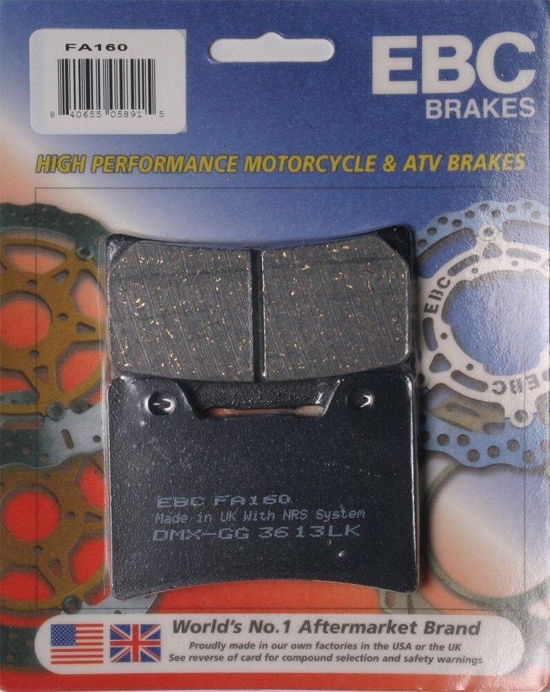 Yamaha FJ 1200 ABS 1992 Organic P Front Disc Brake Pads