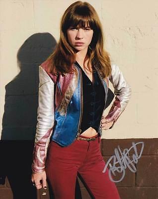 Britt Robertson In Person Authentic Autographed Photo Coa Sha  91171