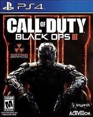 Call Of Duty Black Ops Iii 3 Cod Bo Bo3 Boiii Used Sealed Sony Playstation 4