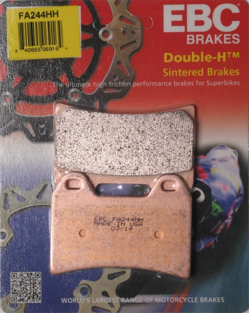 EBC FA231HH Replacement Brake Pads for Front Kawasaki W 800 Cafe Style 2011
