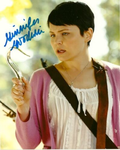 Ginnifer Goodwin Once Upon A Time Autographed Signed 8x10 Photo COA #B2