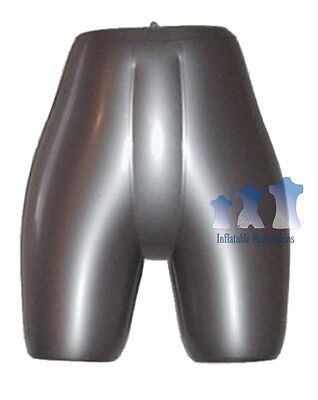 Inflatable Mannequin Female Panty Form Silver