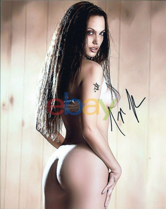 Angelina Jolie Autographed Signed 8x10 Photo reprint