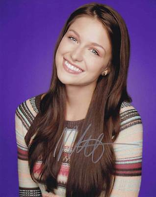 Melissa Benoist In Person Authentic Autographed Photo Coa Sha  10626