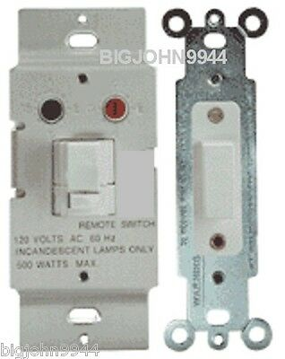X-10 Powerhouse Ws4777 White 3 Way Dimmer Switch Set With...