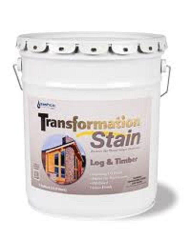 Transformation Log & Timber Stain 5 Gallon Red Tone Medium