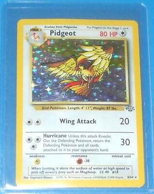 1999 Pokemon Jungle 8-64 Pidgeot Holo in great shape Boys & Girls 4+