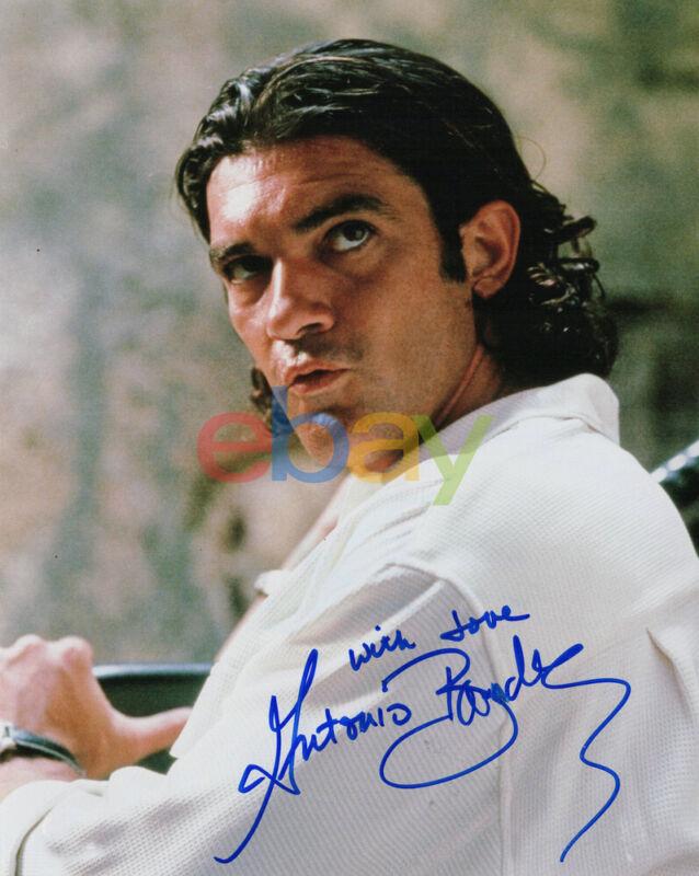 Antonio Banderas signed autographed 8x10 photo reprint