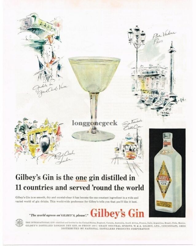 1957 GILBEY