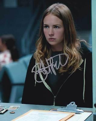 Britt Robertson In Person Authentic Autographed Photo Coa Sha  53903