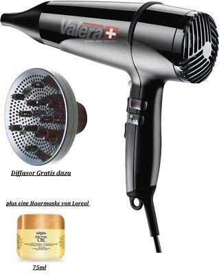 Valera Swiss Light 3000 Pro 1600 Watt mit Diffusor&eine Haarmaske/ Haartrockner  ()