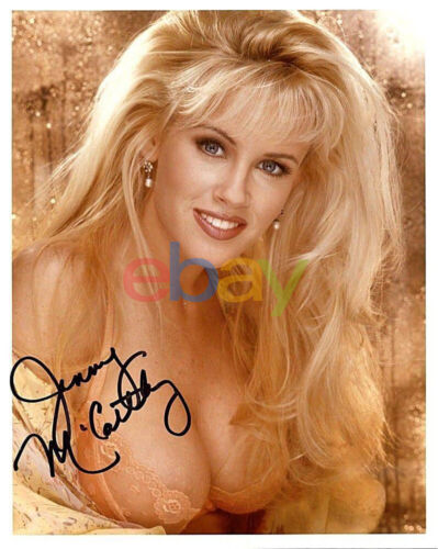 1994 Playmate of the Year Jenny McCarthy Autographed