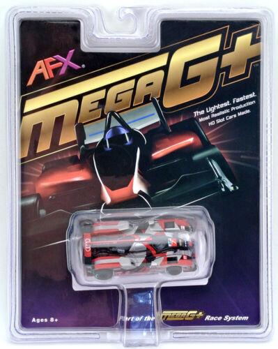 Tomy AFX Mega G+ Audi R18 #7 Silver-Red-Black HO Scale Slot Car #22006 NIB
