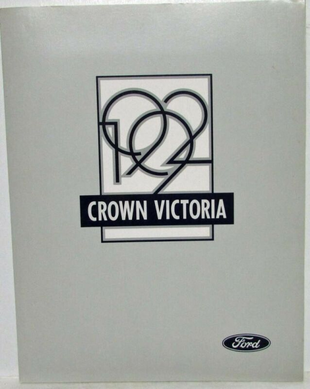 1992 Ford Crown Victoria Press Kit