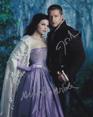 Once Upon A Time In-Person AUTHENTIC Autographed Cast Photo COA SHA 21585 - $125.00