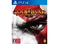 Used PS4 GOD of WAR III Remastered Sony Interactive Entertainment.