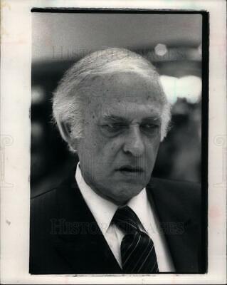1983 Press Photo Jay Kogan Oakland Mall Owner - (Oakland Mall)