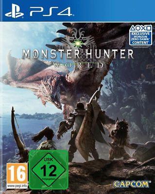 Monster Hunter World PS4 Spiel *NEU OVP* Playstation 4