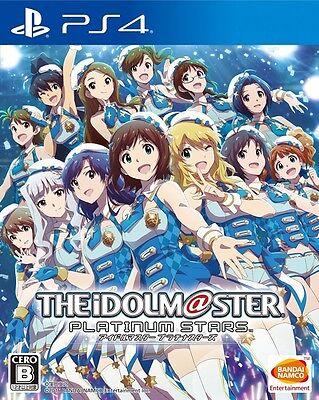 USED PS4 THE iDOLM@STER Platinum Stars Idol Master Japan Import