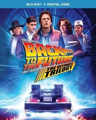 USED Blu Ray BACK TOTHE FUTURE ULTIMATE TRILOGY NO DIGITAL CODES (SEE DESCR)